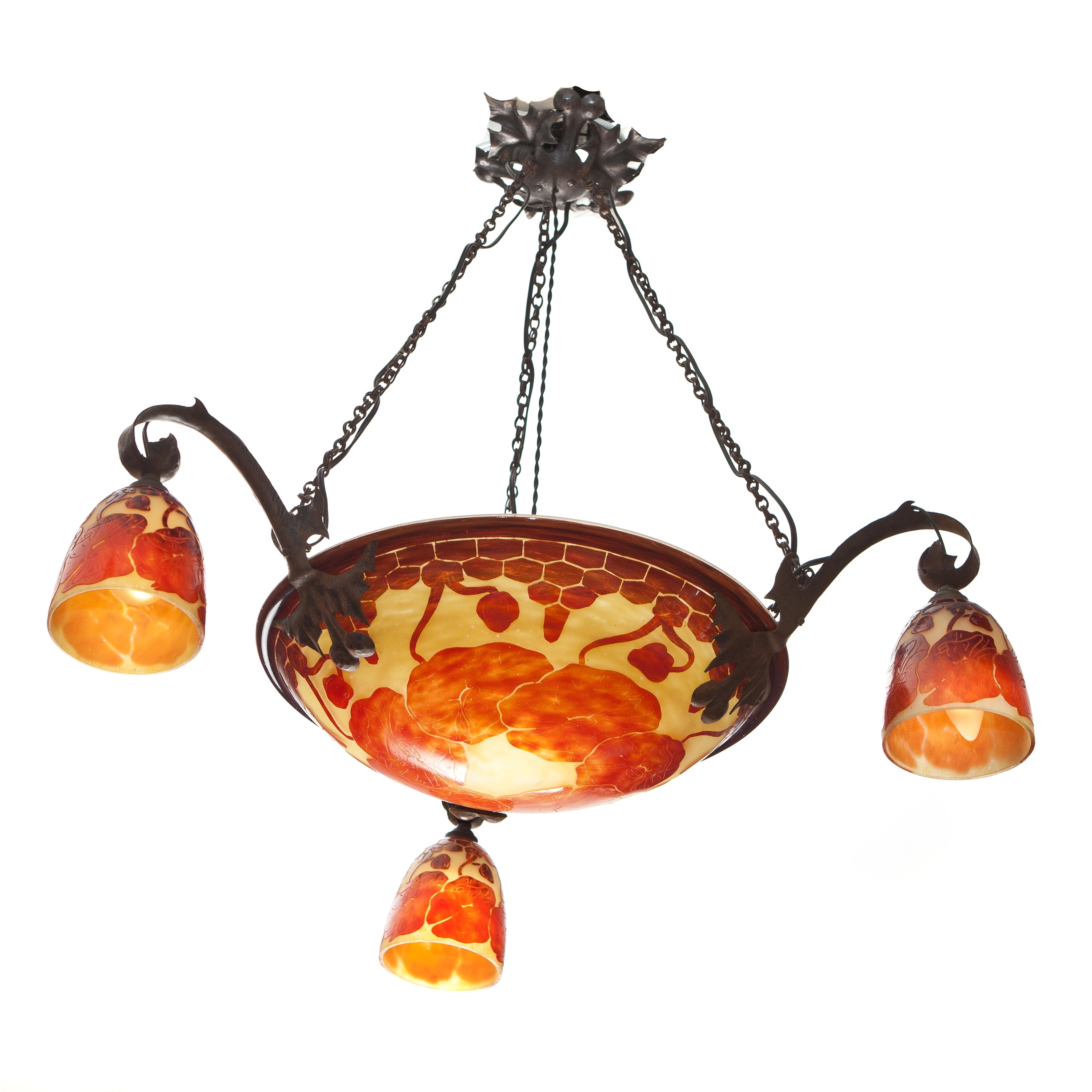 Le verre français ceiling lamp