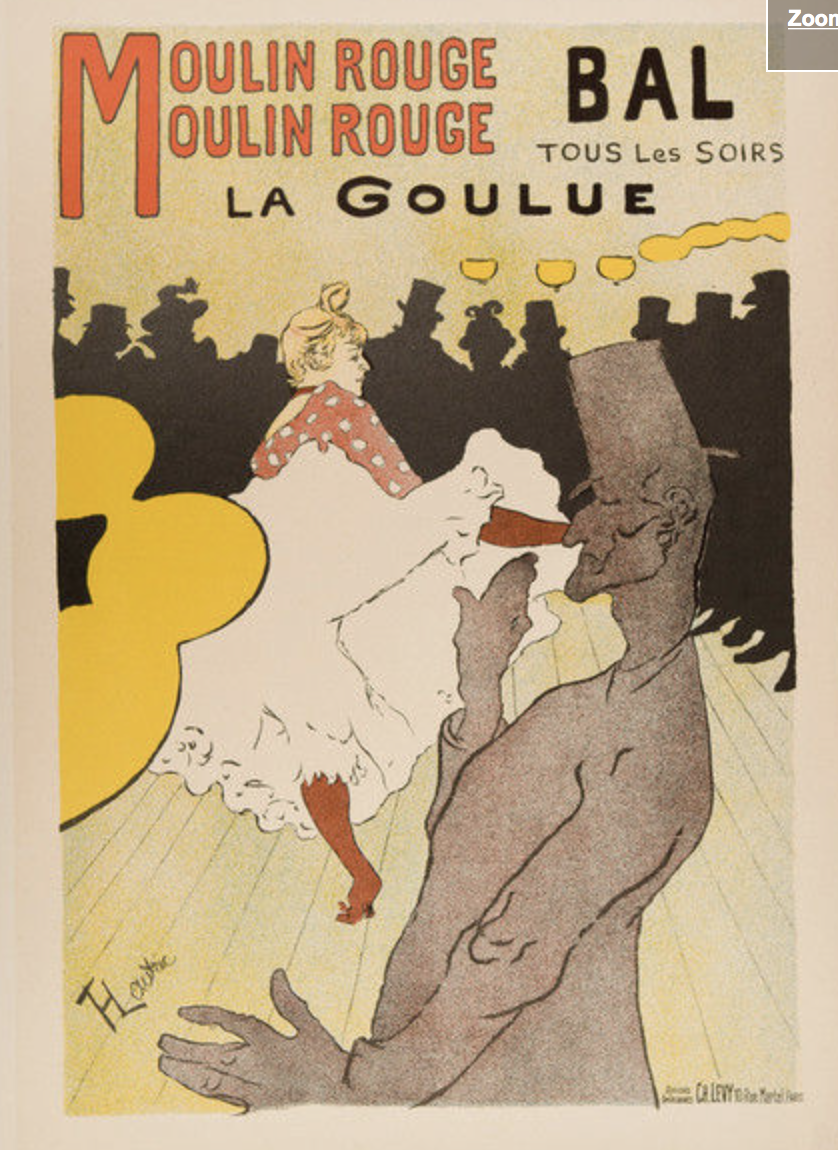 Moulin Rouge Toulouse Lautrec