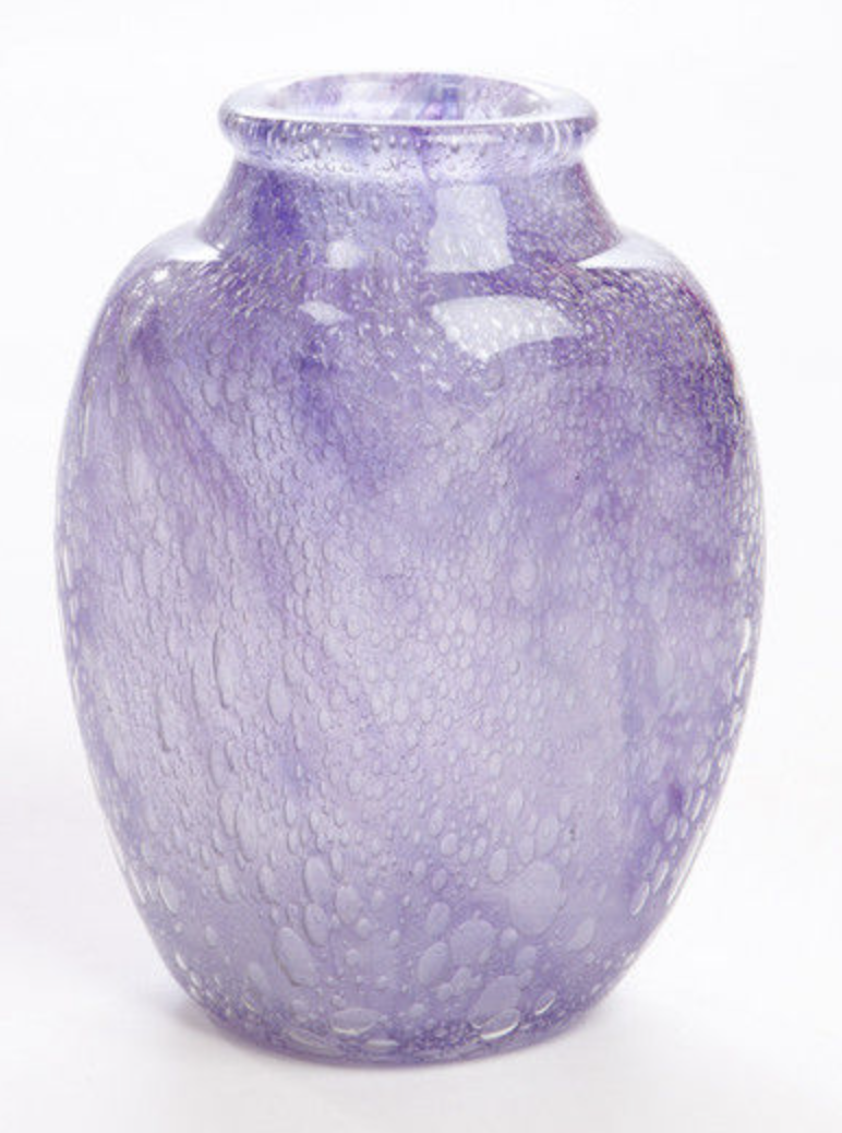 Ecaille vase by Charles Schneider