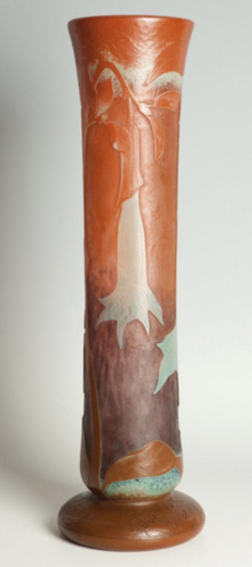 Daum exposition 1900 vase