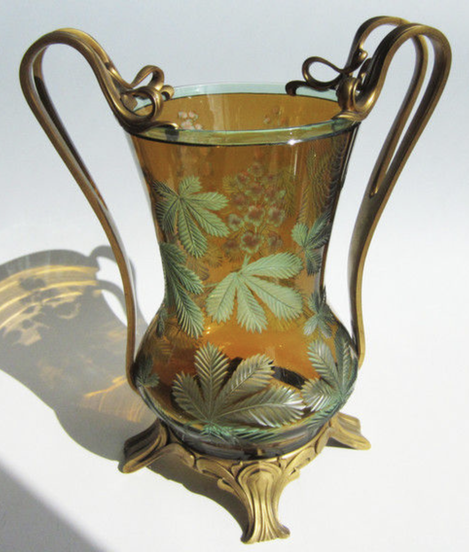 Unique Victor Horta vase