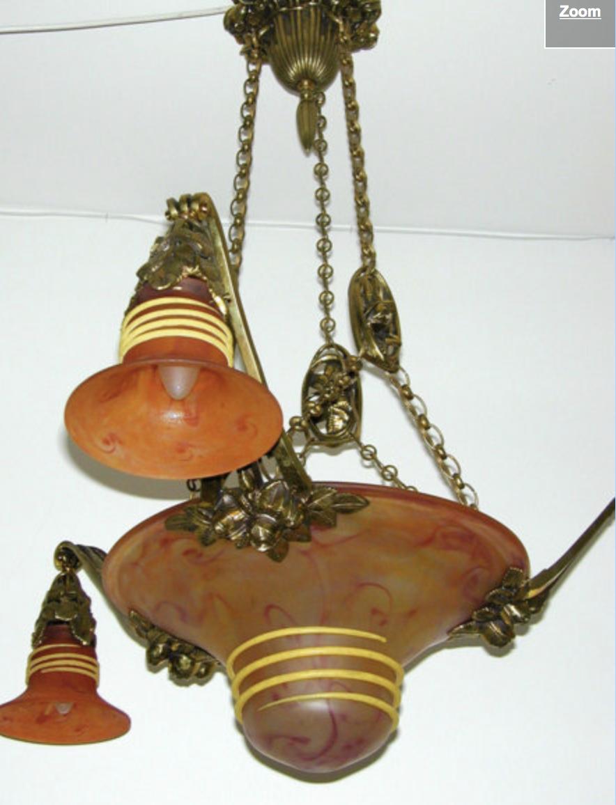Charles Schneider lamp